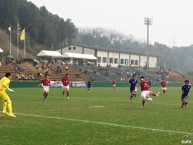match report, japan u-17 storm past mitsubishi yowa in sanix cup