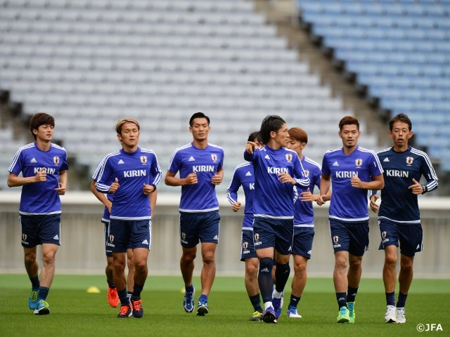 SAMURAI BLUE, J.League members join for matches against Iraq and Singapore