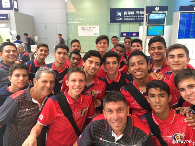 U-16インターナショナルドリームカップ2015JAPAN Presented by JFA U-16コスタリカ代表が来日 | JFA|公益財団法人日本サッカー協会
