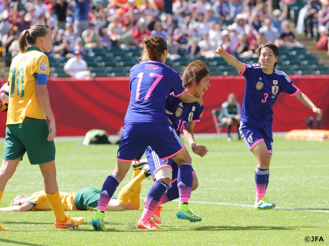 Nadeshiko Japan advance to final four with impressive win against Australia