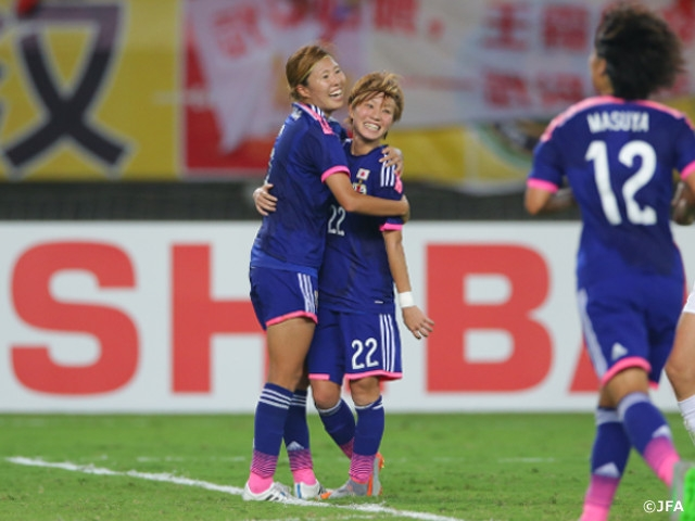 EAFF女子東アジアカップ2015決勝...