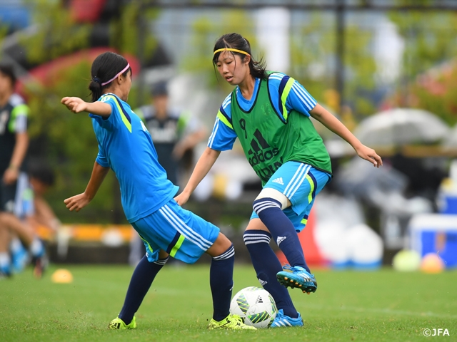 Day 3 of the U-17 Japan Women's National Team short-listed squad