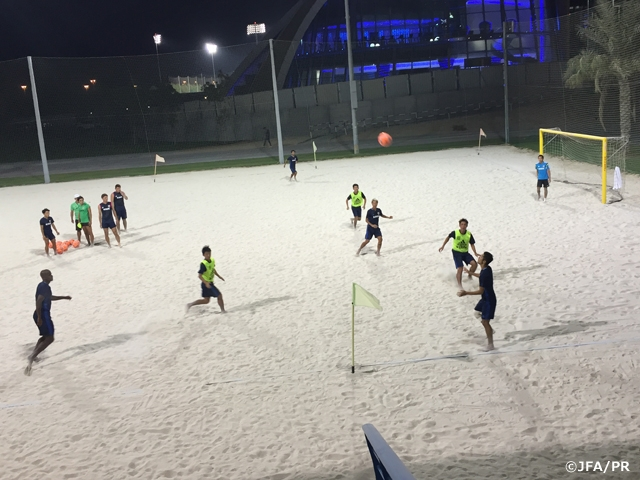 Japan National Beach Soccer Team—Activity Updates from Brazil and UAE camp (8)