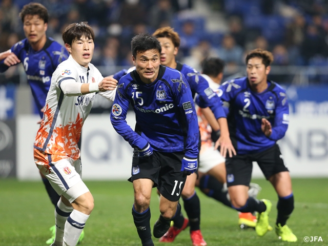 Full Report Comprehensive Defeat For Gamba At Home Away Draw For Frontale In Acl Group Stages Japan Football Association