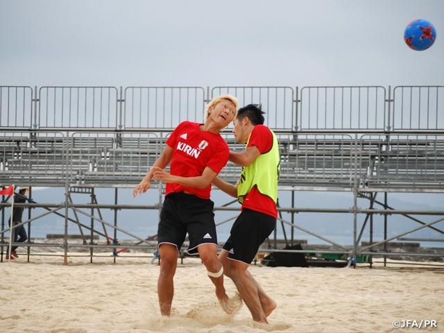 日本代表ビーチサッカー
