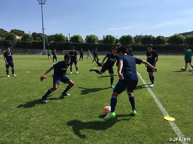 U-19日本代表、第45回トゥーロン国際大会2017へ向け活動を開始|JFA ...