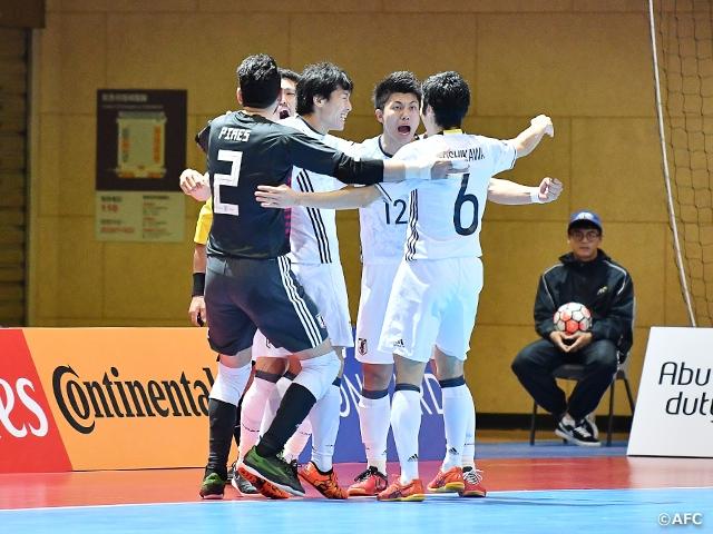 AFCフットサル選手権チャイニーズ・タイペイ2018 TOP|JFA|公益財団 ...