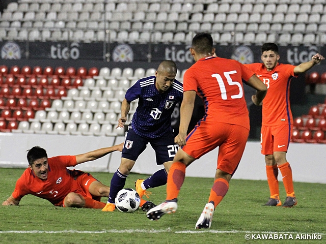 U-21 Japan National Team falls to Chile 0-2 in SPORT FOR TOMORROW South America - Japan U-21 Football Exchange Programme