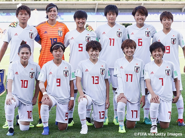 timeless design 6ad86 5f2f6 U-20 Japan Women's National Team gets off to a good start ...