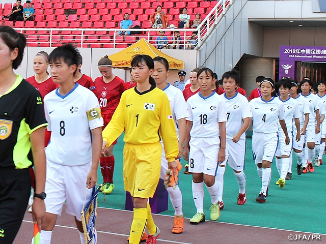 JFAエリートプログラム女子U-14 チェコに5-1で勝利【CFA International Women's Youth Football Tournament Weifang 2018】