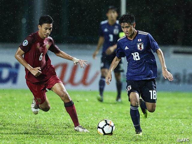 U-16日本代表、白星スタート ~AFC U-16選手権マレーシア2018 JFA 公益財団法人日本サッカー協会