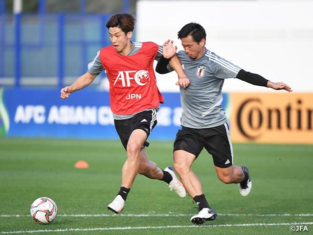 SAMURAI BLUE resumes training ahead of Semi-Final match
