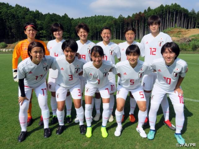ユニバーシアード日本女子代表 男子高校生とトレーニングマッチ実施