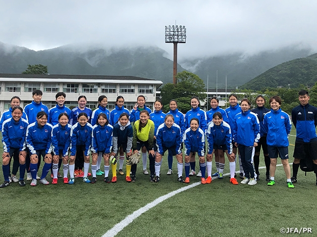 U-15 Mongolia Women's National Team holds training camp in Kanagawa