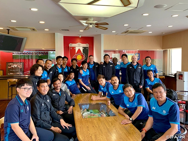 Football Association of Thailand holds Club Attachment Module of AFC Professional Football Diploma Coaching Course in Japan