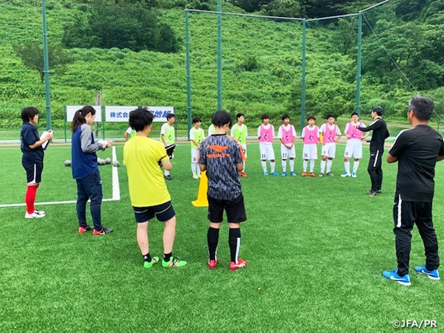 The Second edition of 2019 refresher course for female coaches held in Ishikawa