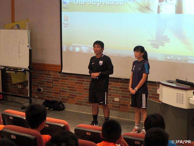 JFA Instructors dispatched to Academy Summer Camp held in Chinese Taipei