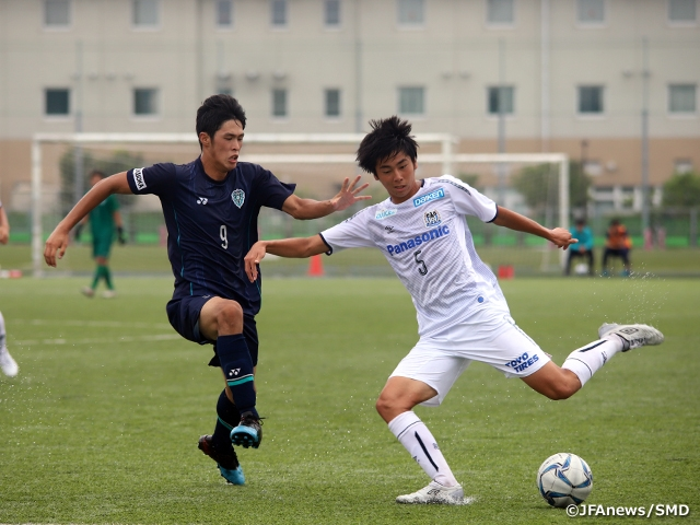 Gamba Osaka scores 8 goals in victory over Avispa to defend