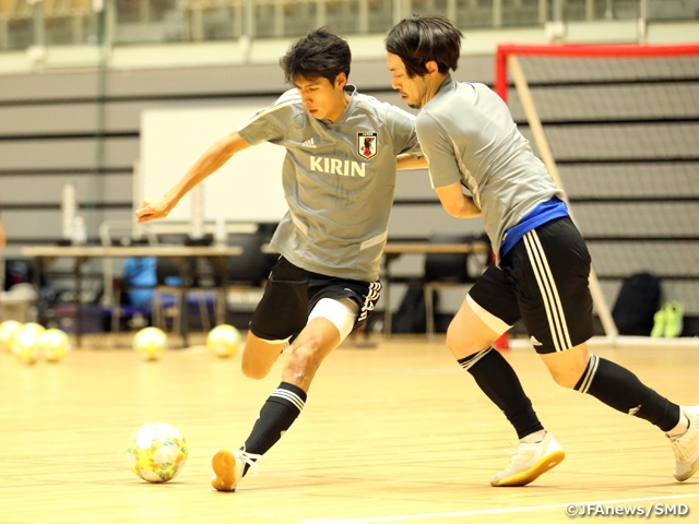 Japan Futsal National Team holds official training at Nagaoka ahead of International Friendly Match vs Thailand Futsal National Team