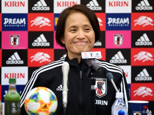 Nadeshiko Japan conducts official training session and press-conference ahead of International Friendly Match vs Canada Women's National Team