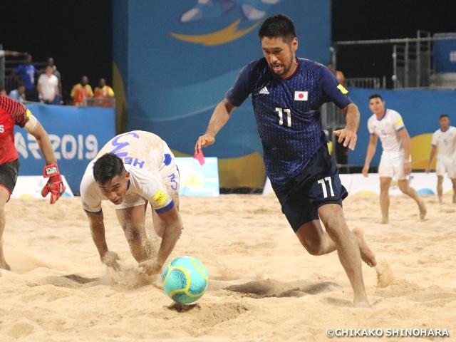 ビーチサッカー日本代表、ANOCワールドビーチゲームズ、エルサルバドルとの第2戦を連勝