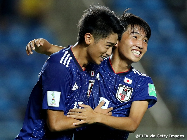 U-17 Japan National Team defeats Netherlands 3-0 in their first group stage match at the FIFA U-17 World Cup Brazil 2019