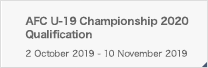 AFC U-19 Championship 2020 Qualification