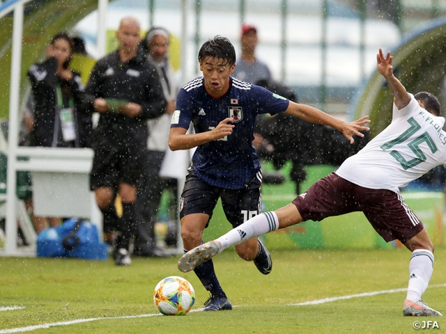U-17 Japan National Team eliminated at the round of 16 with 0-2 loss to Mexico - FIFA U-17 World Cup Brazil 2019