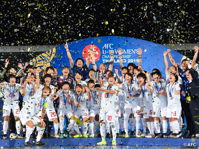 U-19 Japan Women's National Team defeats DPR Korea to claim 3rd consecutive title - AFC U-19 Women's Championship Thailand 2019