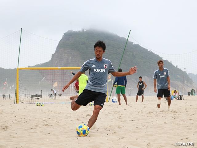 ビーチサッカー日本代表 ブラジルでワールドカップ直前合宿をスタート