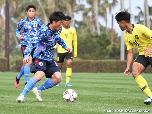 U-17 Japan National Team advance to tournament final with win over U-17 Malaysia National Team - JENESYS2019 Youth Football Exchange Tournament