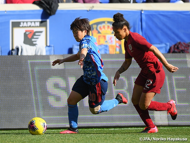Nadeshiko Japan lose to England after conceding late goal - 2020 SheBelieves Cup