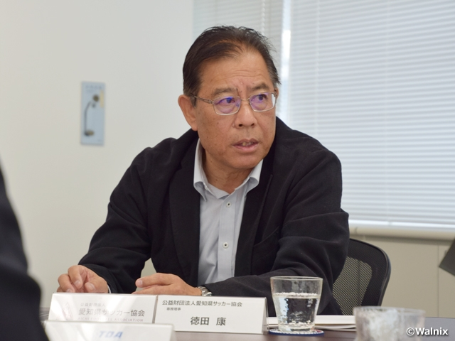 Message from Chairman TOKUDA Yasushi of JFA Facilities Committee