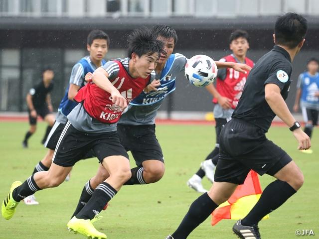 U-16日本代表候補 国内トレーニングキャンプ活動レポート
