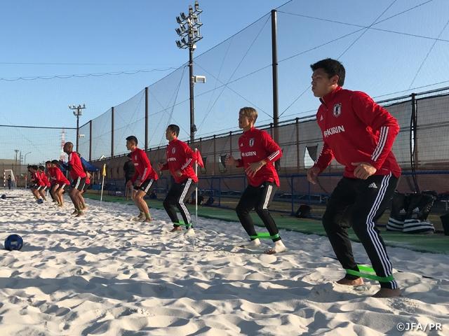 ビーチサッカー日本代表候補 碧南合宿終了
