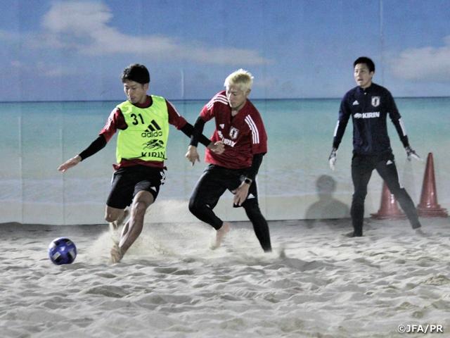 ビーチサッカー日本代表候補 年内最後のトレーニングキャンプスタート