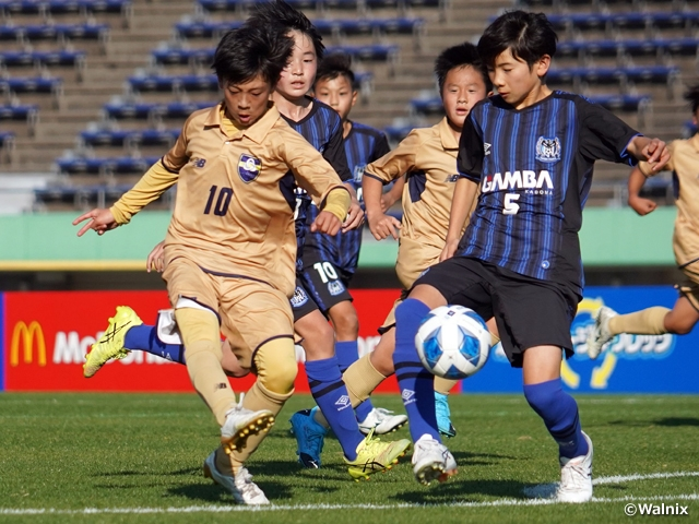 JEF United Chiba and FC Trianello Machida advance to the Final of JFA 44th U-12 Japan Football Championship