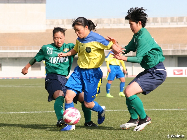 Semi-finalists determined at the 29th All Japan High School Women's Football Championship
