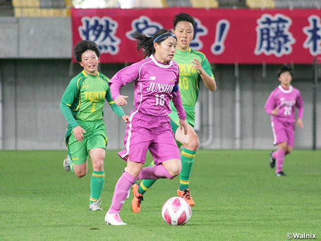Sakuyo and defending champion Fujieda Junshin advance to final of the 29th All Japan High School Women's Football Championship