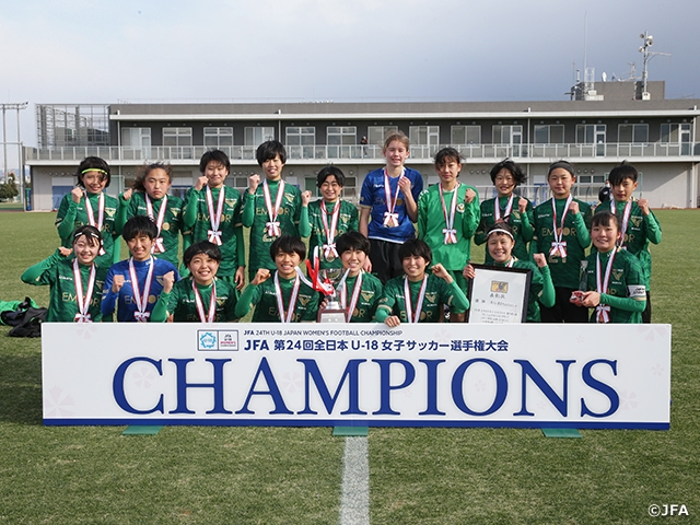 Nippon TV claims ninth title in dramatic fashion at the JFA 24th U-18 Japan Women's Football Championship