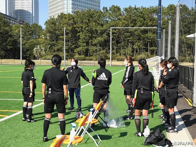 Practical Training Course for Women's Class-1 Referees takes place ahead of the opening of the WE League