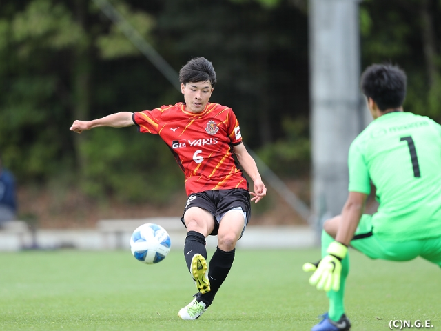 Battle between two undefeated sides ends in a draw at the Prince Takamado Trophy JFA U-18 Football Premier League 2021