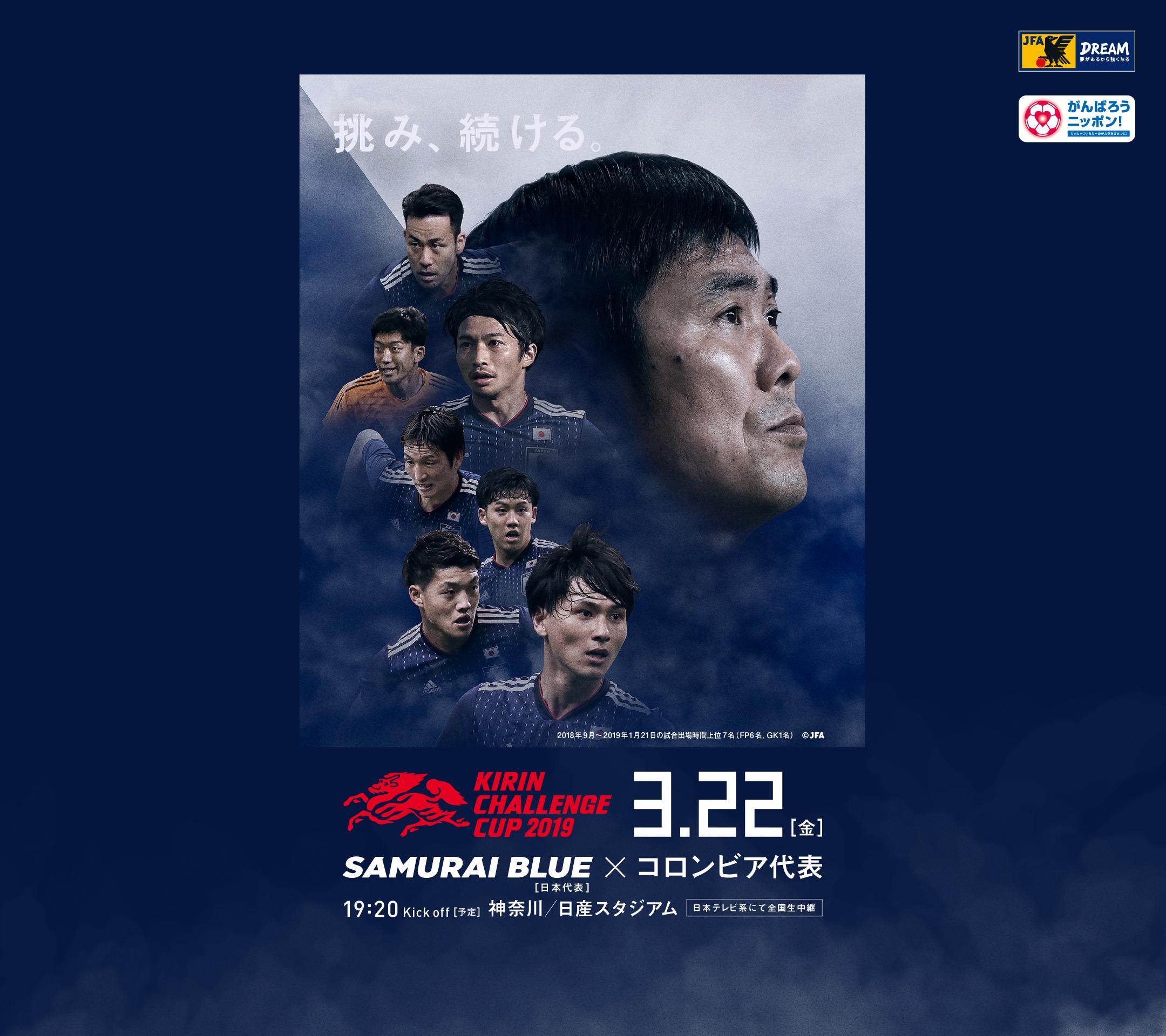 壁紙 ポスターダウンロード キリンチャレンジカップ2019 3 22